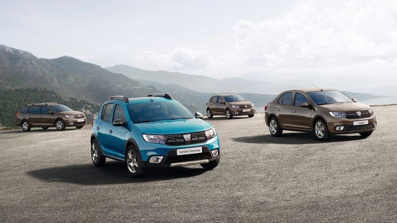 Dacia dezvaluie noile sale modele Sandero, Sandero Stepway, Logan și Logan MCV