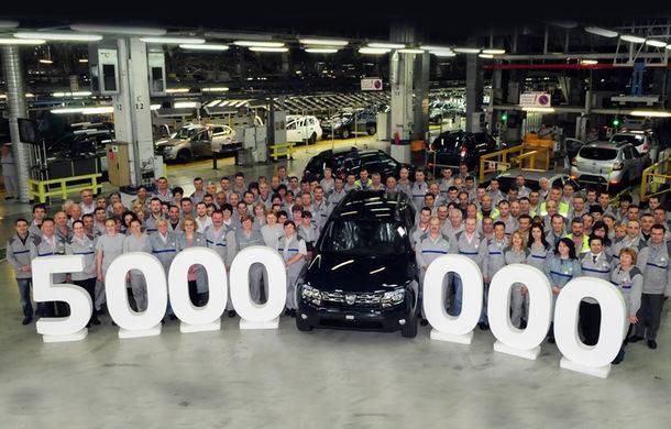 Uzina Dacia împlineşte 50 de ani