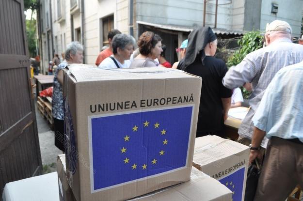 Alimentele de la UE, aproape epuizate