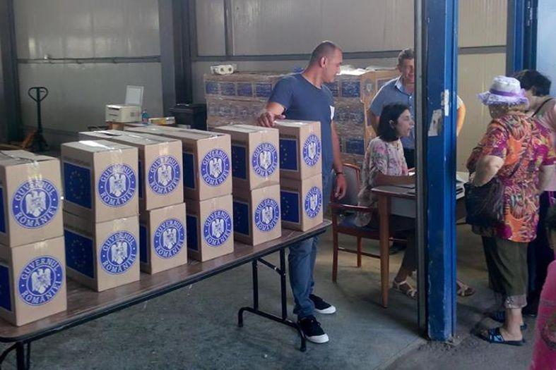Mioveni: Redistribuirea ajutoarelor alimentare de la UE începe de joi, 22 septembrie