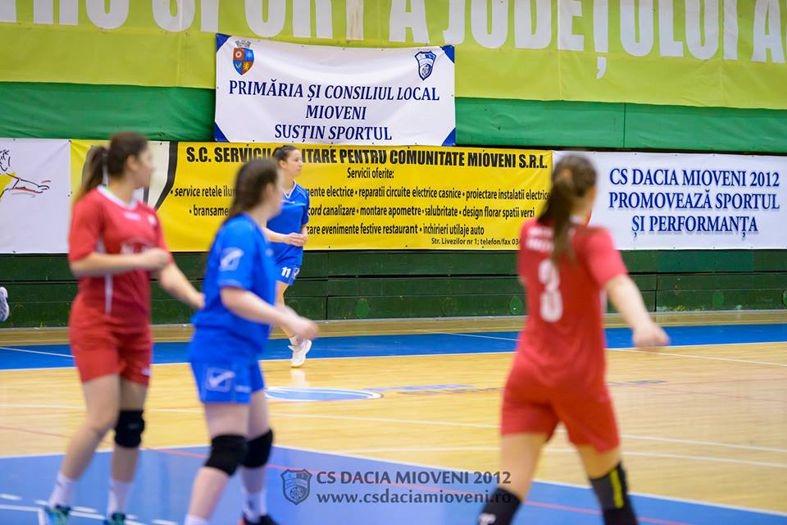 Partide importante pentru handbalistele din Mioveni