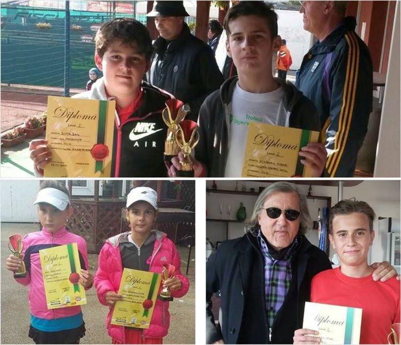 Tenismenii din Mioveni, clasări pe podium la Cupa Argeş Expres