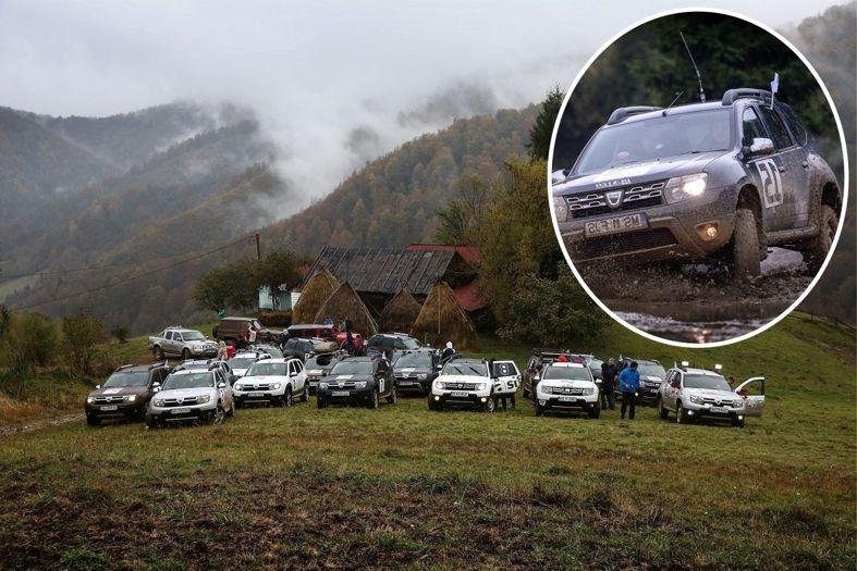 Clienţii Dacia Duster şi-au demonstrat pasiunea pentru off-road