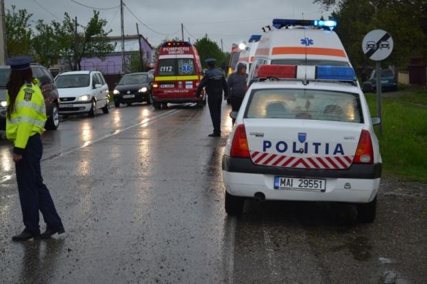 Poliţia solicită prudenţă sporită la volan