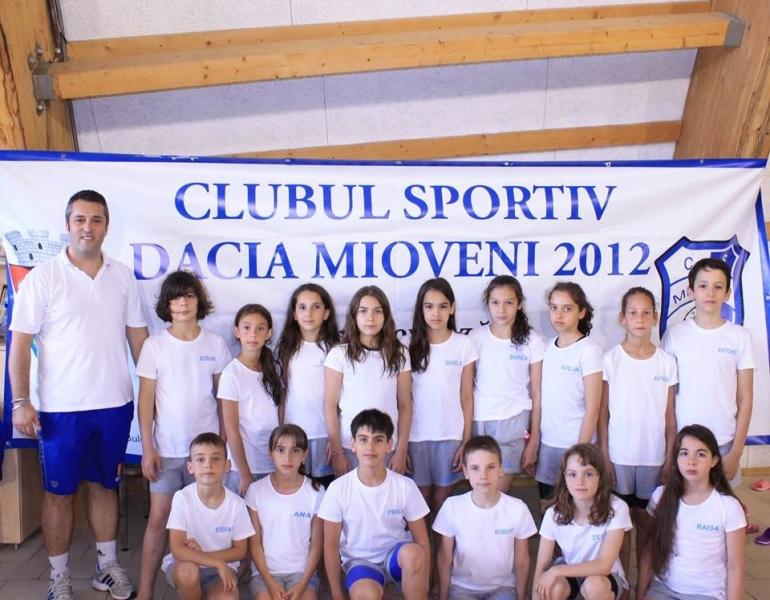 Sportivii CS Dacia Mioveni 2012, în competiţii