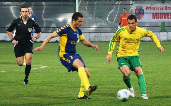 CS Mioveni, primele meciuri din play-off