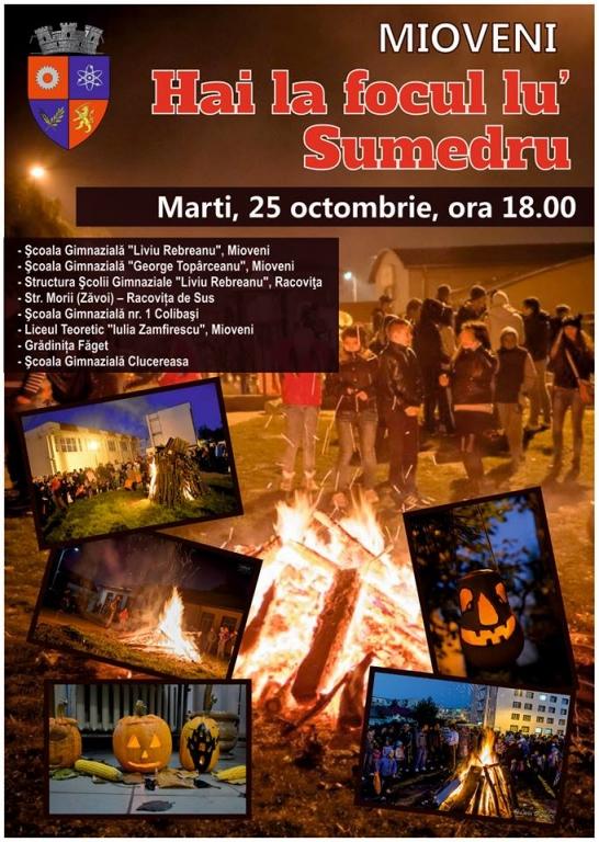 Mioveni: Hai la focul lu' Sumedru
