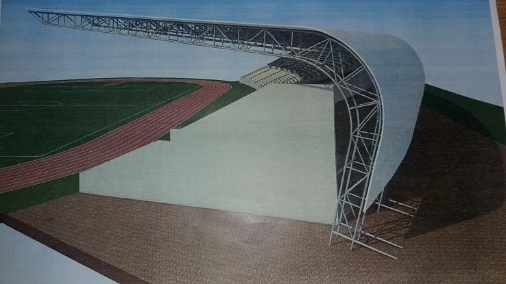 Tribuna a doua a stadionului din Trivale va fi modernizată