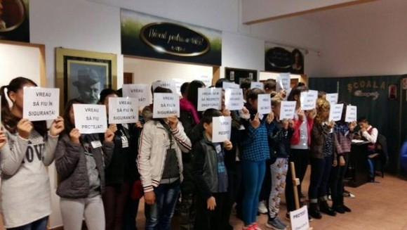 Protestele de la Şcoala I.L. Caragiale s-au încheiat