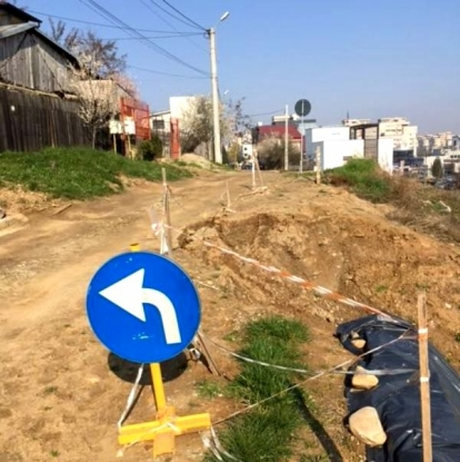 Alunecarea de teren de pe strada Caporal Pătru va fi stopată