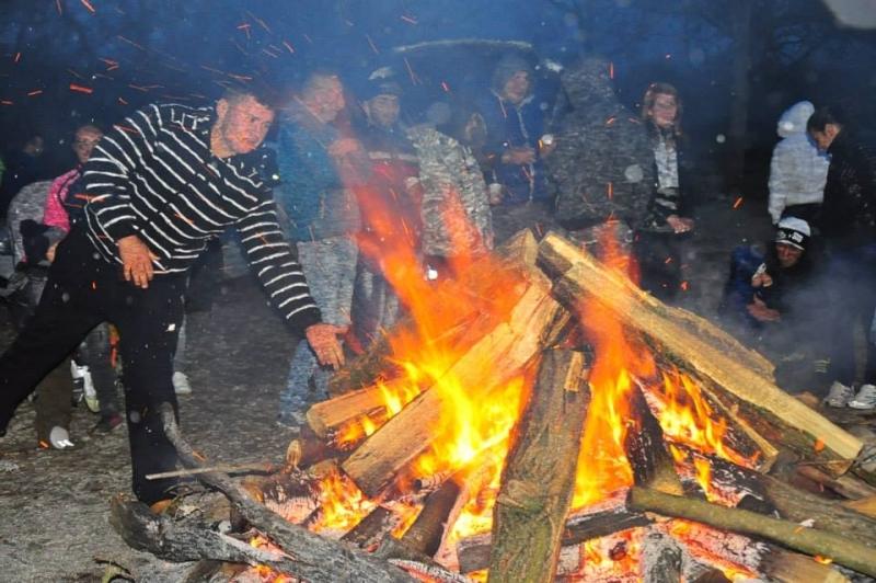 Focul lui Sumedru, pe Plaja Veche de la Budeasa