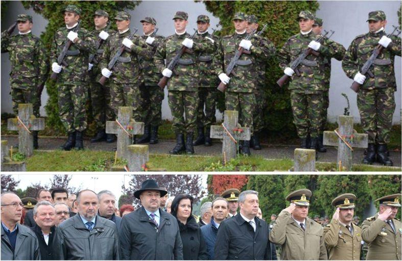 Cimitirul Eroilor, neîncăpător pentru politiceni