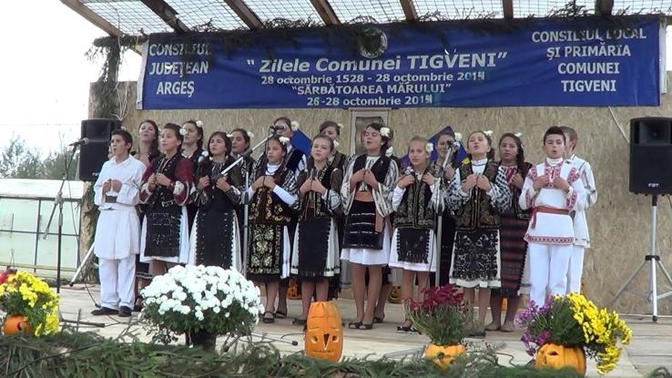 Sărbătoare la Tigveni