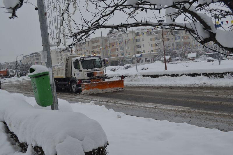 Pregătiri pentru sezonul de iarnă în orașul Mioveni