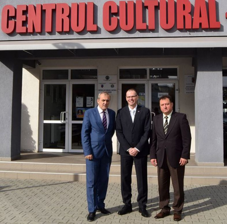 Ambasadorul Sloveniei, în vizită la Mioveni