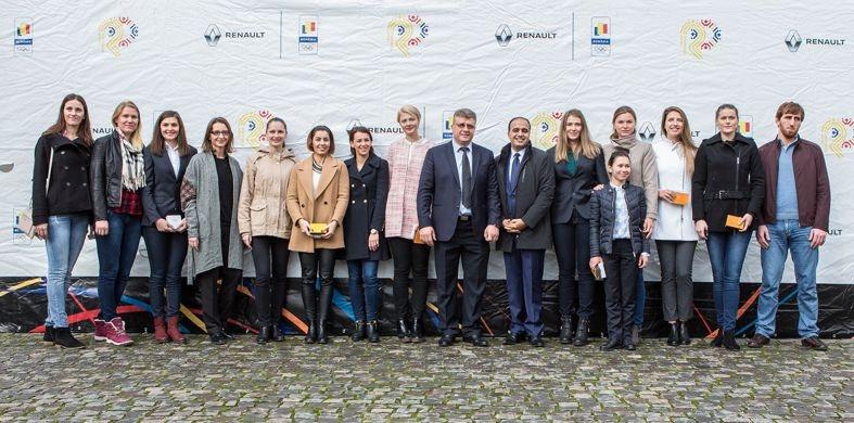 Renault premiază medaliaţii de la Jocurile Olimpice Rio 2016
