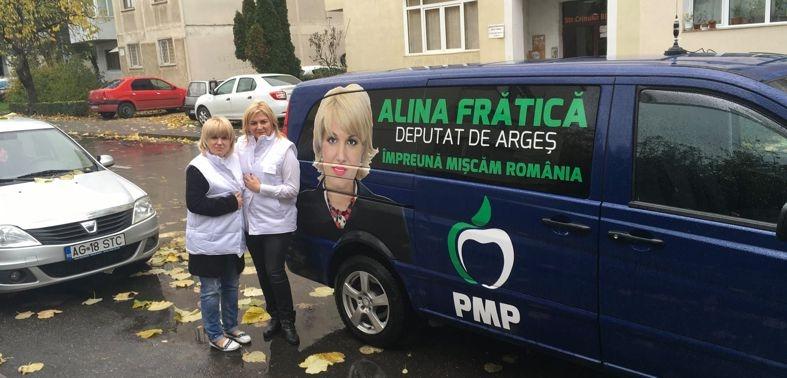 """Argentina Culcuș: """"O susțin pe Alina Frătică să ajungă deputat deoarece cred în proiectele ei"""""""