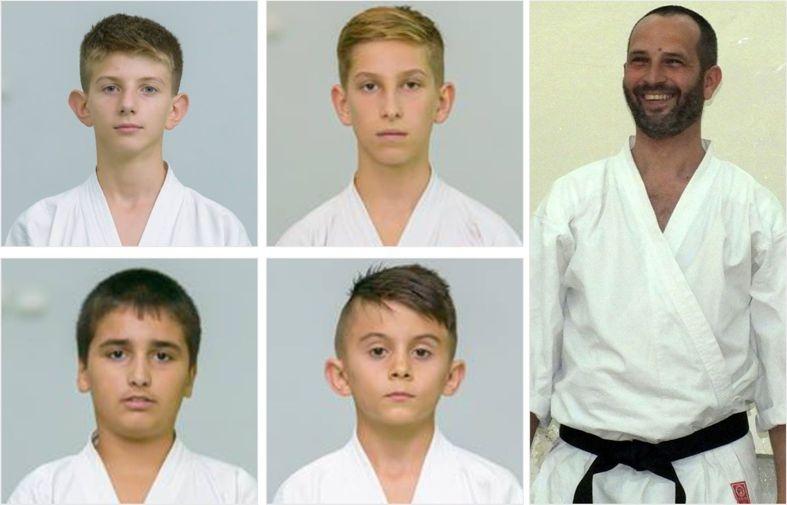 Patru karatiști din Mioveni ne reprezintă la Europenele de Karate Shotokan, din Georgia