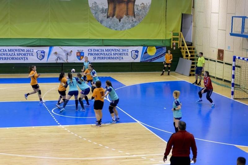 CS Dacia Mioveni 2012 va organiza turneu semifinal de handbal