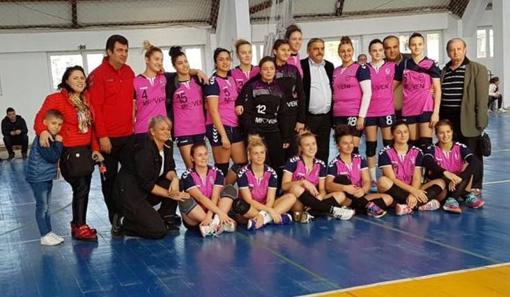 Meci de campionat pentru handbaliste din Mioveni