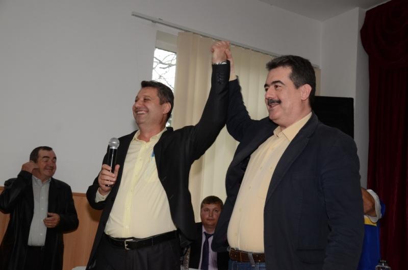 Andrei Gerea, la lansarea candidaturii lui Nicolae Pană la Primăria Coșești