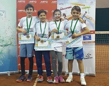 Rezultate excepționale pentru tenismenii de la Mioveni!