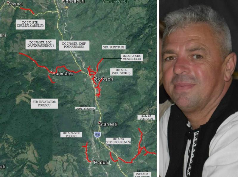 Drumuri de 1 milion euro la Corbi