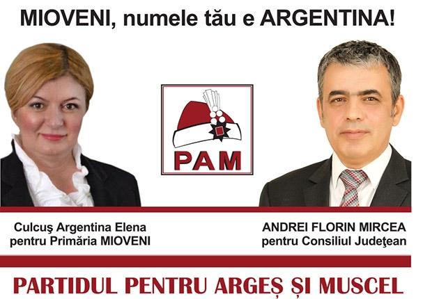 Mioveni, numele tău e Argentina...