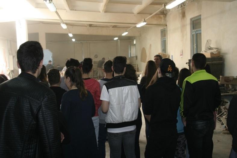"""Şcoala altfel""  la Penitenciarul Mioveni"