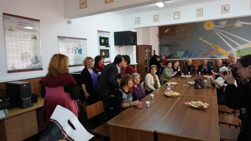 Cadrele didactice pensionare, sărbătorite la Mioveni