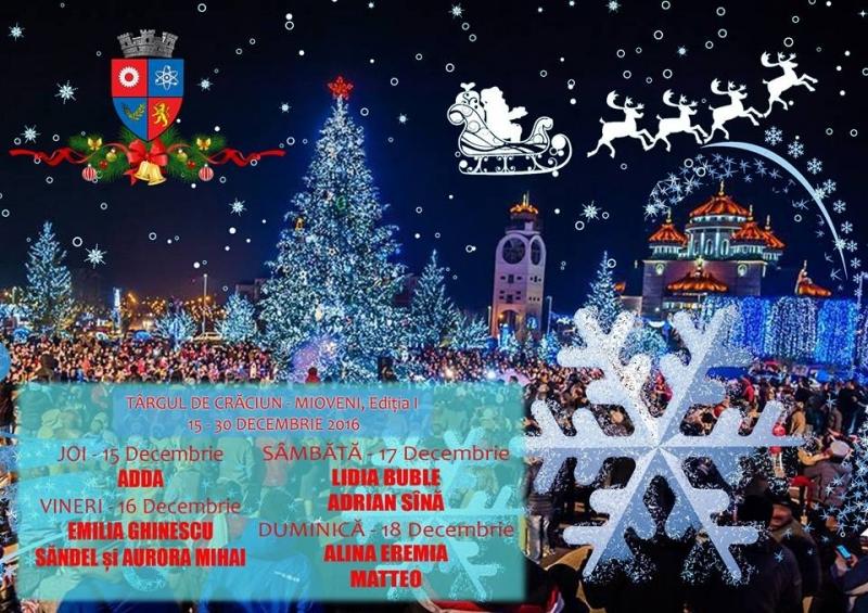 Se apropie Târgul de Crăciun de la Mioveni