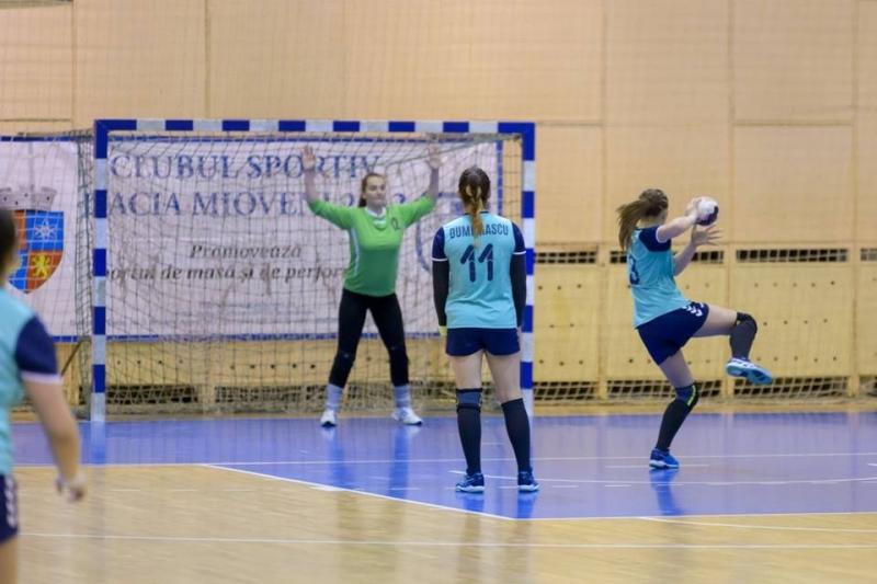 Turneu important pentru handbalistele din Mioveni