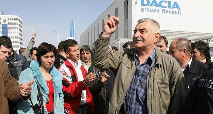 Protest la Dacia