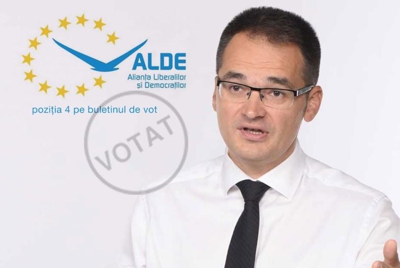 Bogdan Ivan, candidat ALDE: ,,Autostrada Pitești – Sibiu,  vitală pentru România''