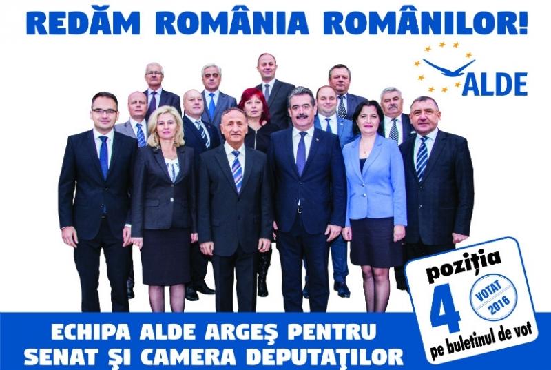 Programul electoral al echipei ALDE la nivel județean