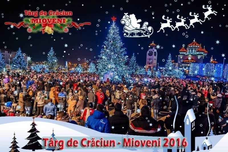 """Zece zile până la """"Târgul de Crăciun"""" de la Mioveni"""