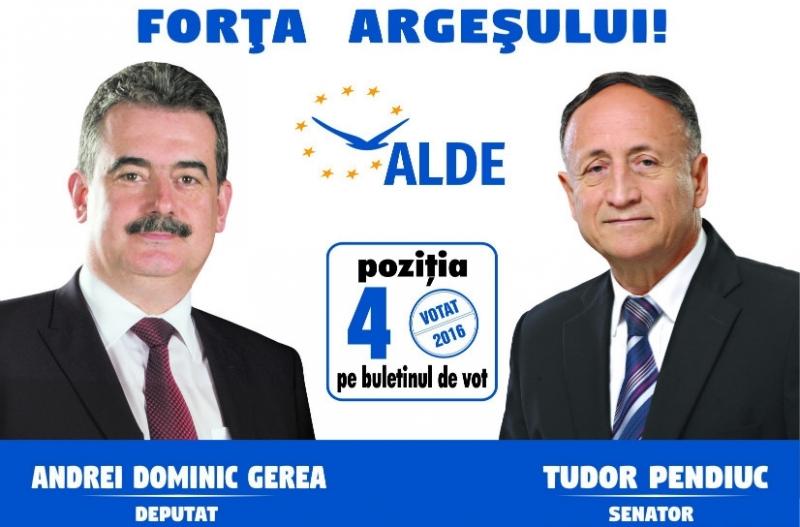 Călin Popescu - Tăriceanu: ,,Andrei Gerea și Tudor Pendiuc, oameni cu care putem construi o Românie mai bună''