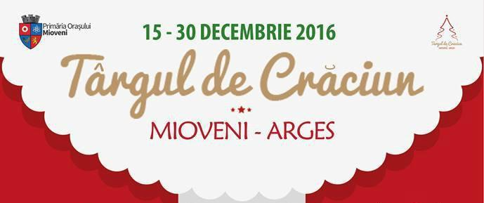 Târgul de Crăciun de la Mioveni se va deschide în 15 decembrie