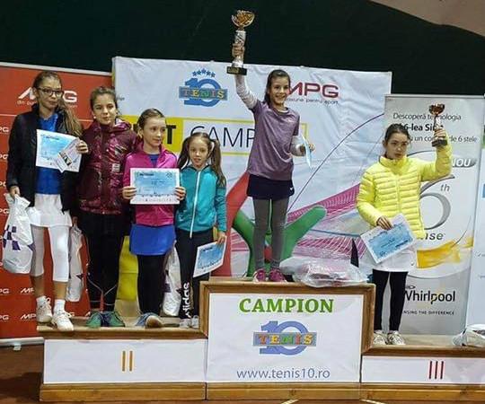 Doi tenismeni din Mioveni au devenit campioni naționali în capitală