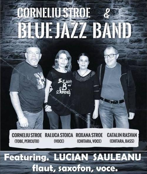 Corneliu Stroe şi Blue Jazz Band, la Filarmonica Piteşti