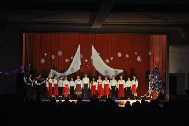 Concert de colinde la Topoloveni