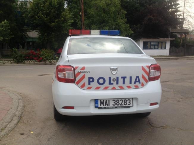 Mașinile poliției intră în service
