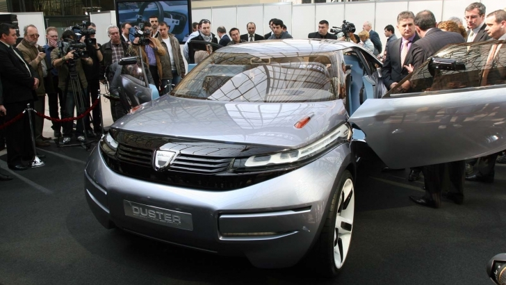 Noua Dacia Duster, lansată în 2018