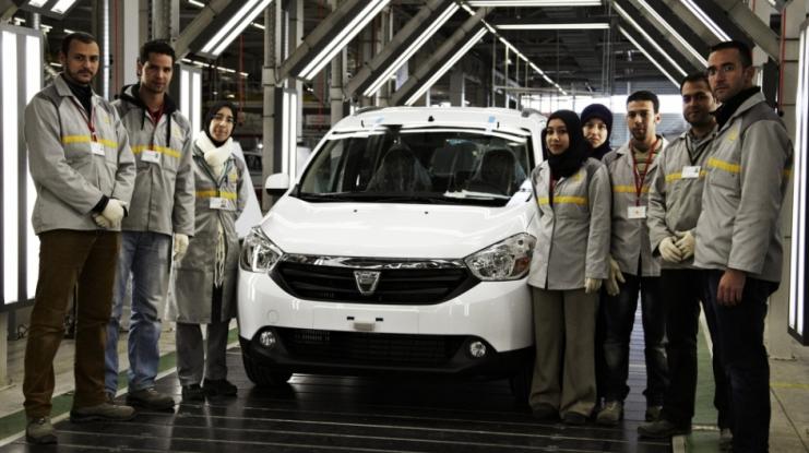 Mai multe maşini produse în Maroc decât în Mioveni
