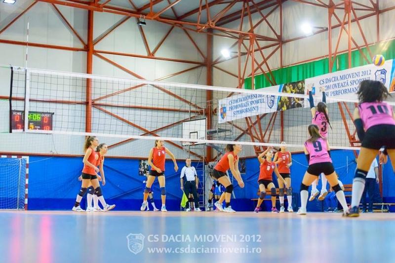 Weekend plin de competiții pentru echipele CS Dacia Mioveni