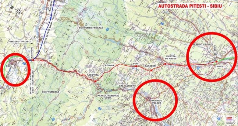 Autostrada Piteşti-Sibiu lipseşte din buget