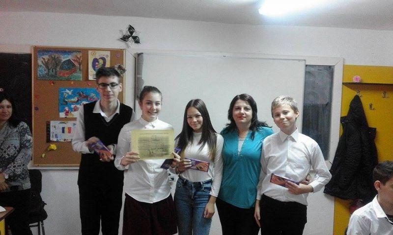 """Rezultate bune pentru elevii de la """"Liviu Rebreanu"""""""