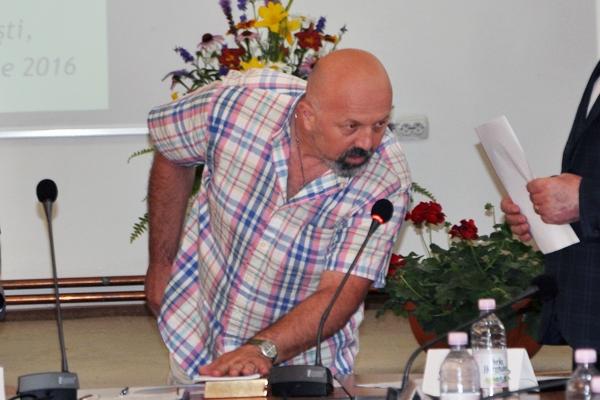 Consilierul Morlova, motociclist înflăcărat