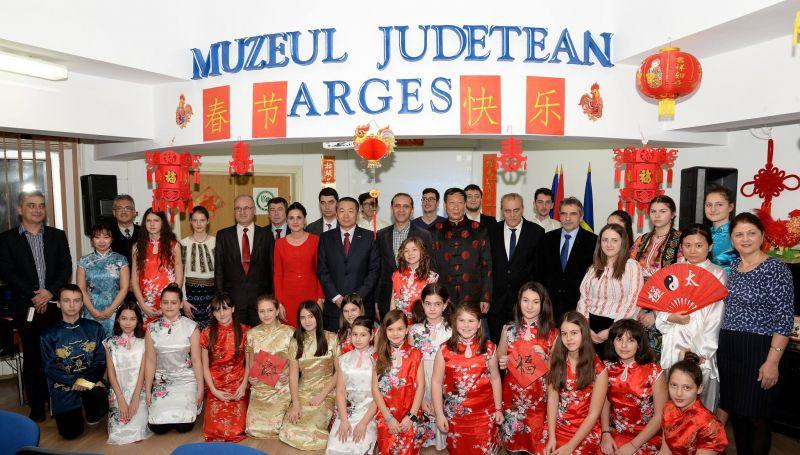 Anul Nou Chinezesc, sărbătorit în Argeş