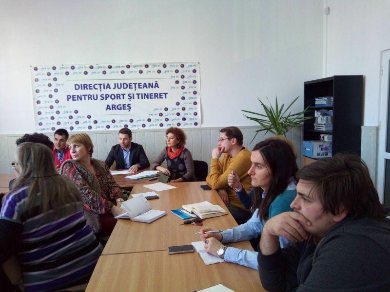 Întâlniri consultative cu voluntari şi reprezentanţi ONG  din judetul Argeş